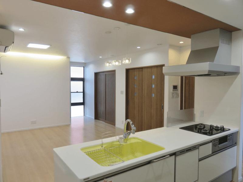 三成ハウジング施工事例フォトギャラリー キッチン・ダイニング