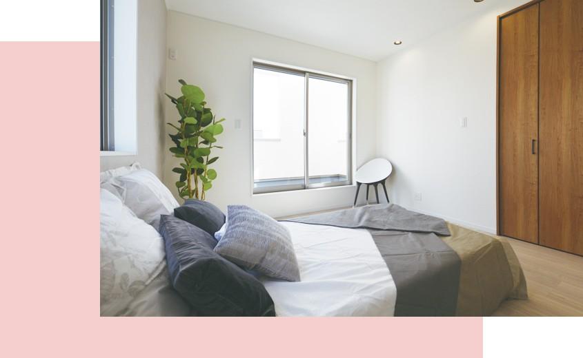 岸和田市春木若松モデルハウス 主寝室