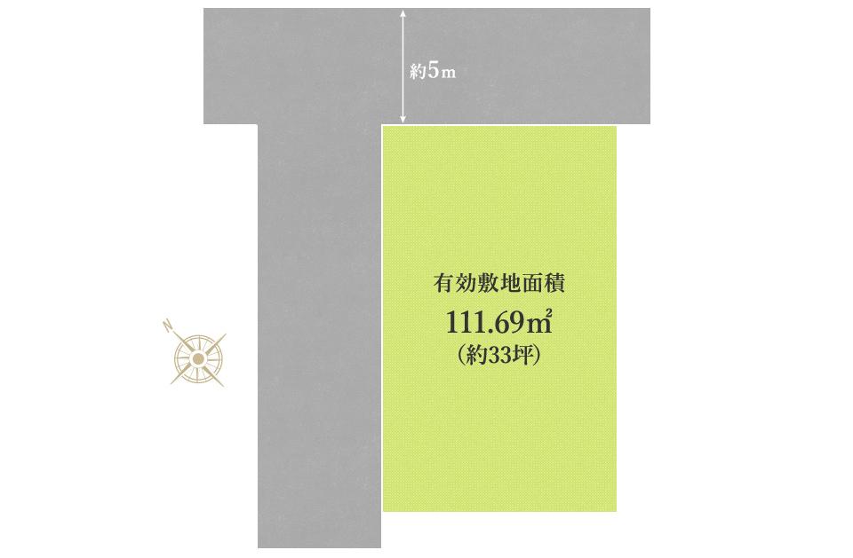 岸和田市春木若松Ⅲ 売土地 区画図