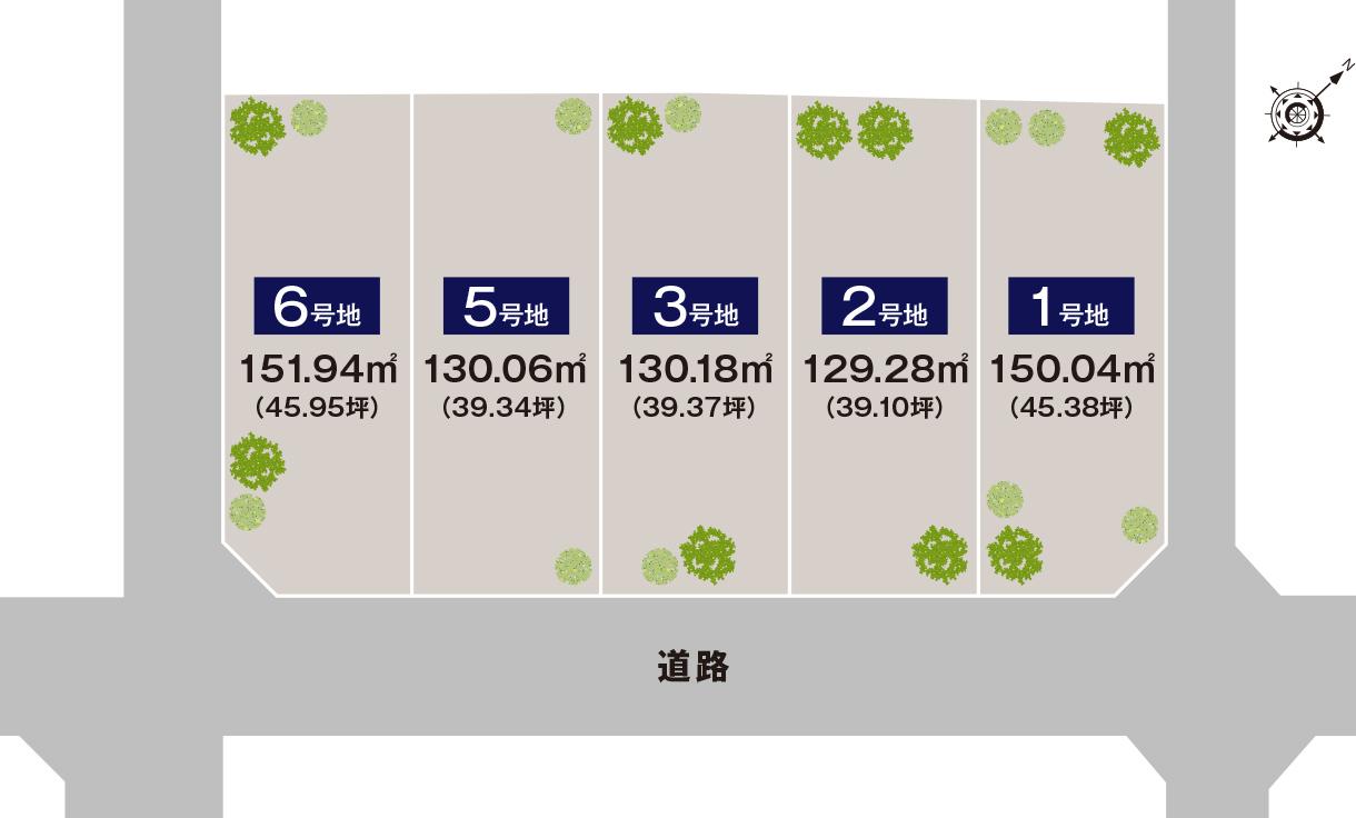 岸和田市別所町Part.15 区画図